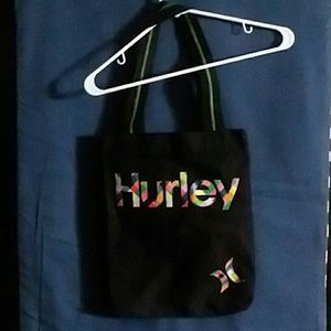 Hurley Tote with multicolored logo
